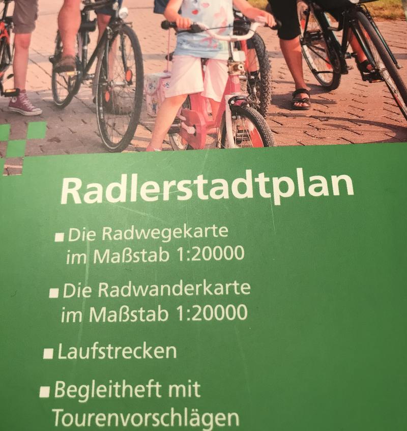 Tourenvorschläge des Radlerstadtplans