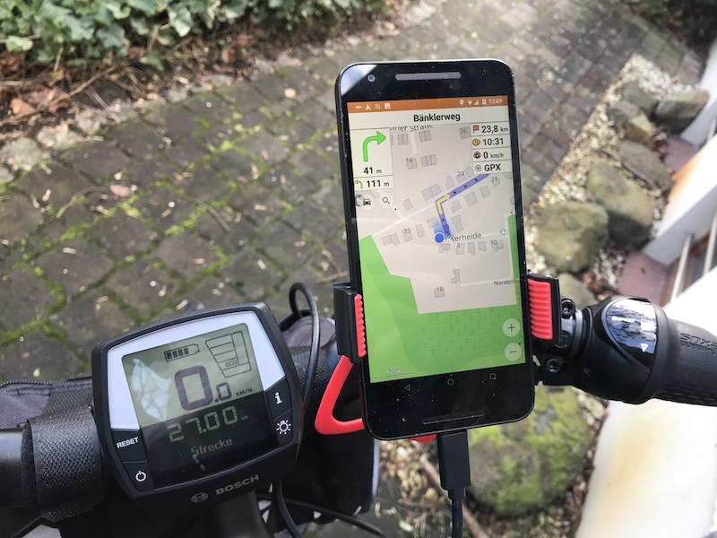 Mit dem Smartphone navigieren
